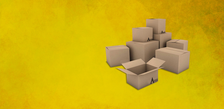 انواع کارتن و جعبه های بسته بندی