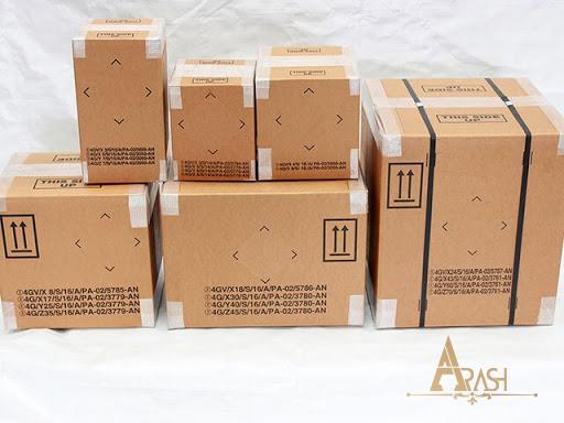 انواع کارتن بسته بندی