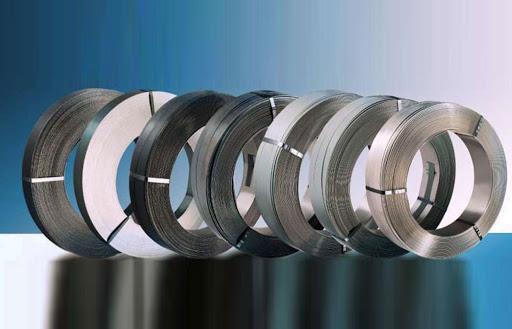 انواع تسمه های فلزی برای بسته بندی
